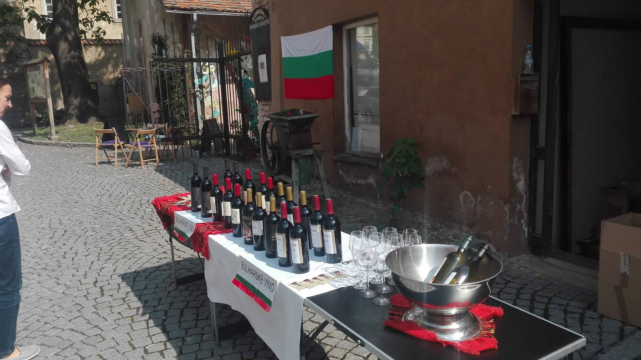 Degustace bulharská vina Mikulov 19.05.2018